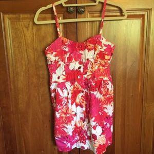 Medium XXI Branded Flowered Dress